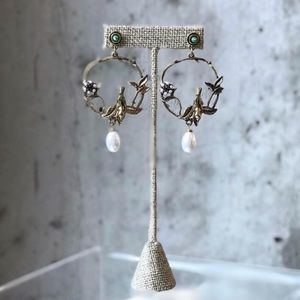 Vintage Bird Earrings